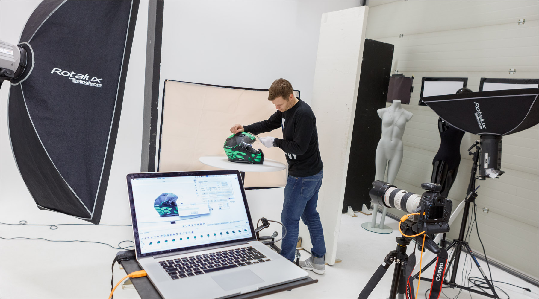 360-foto i studion